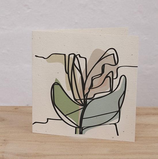 PLANTABLE CARD - DAISIES