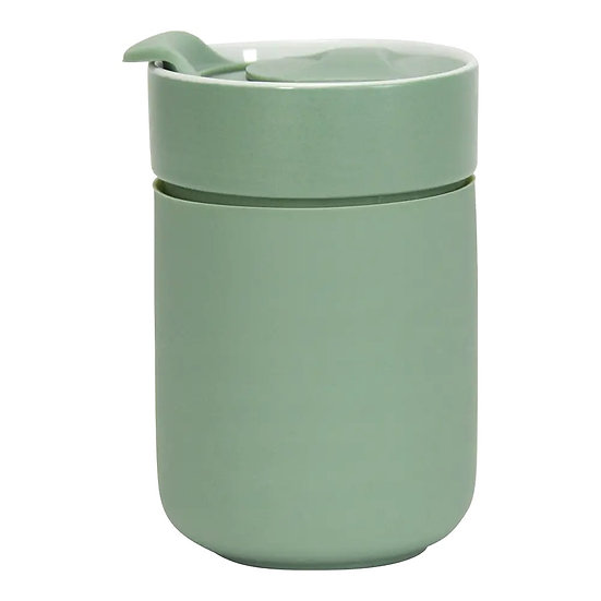 CERAMIC TRAVEL CUP - SAGE