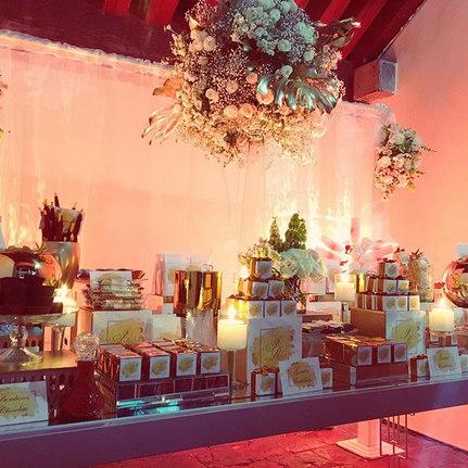 mesa de dulces boda elegante