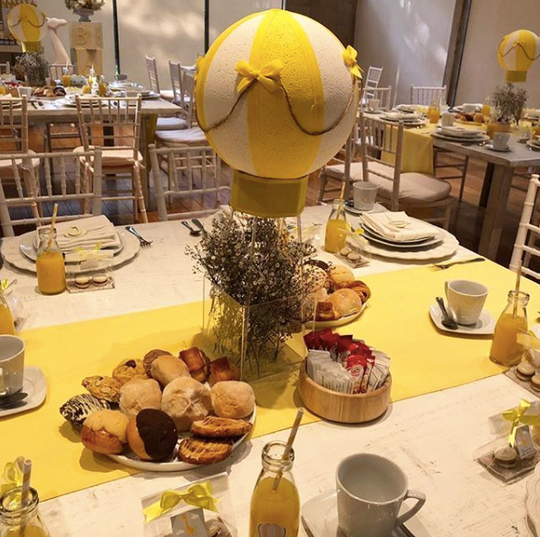 desayunos para evento