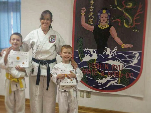 Karate Mom - Advancements