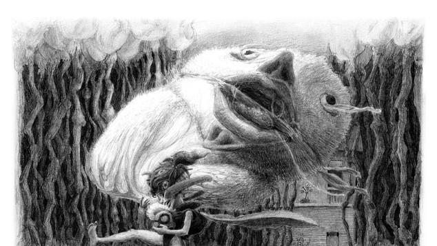 Bubba Stories Illustrations No6-10