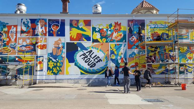 Alief Community Mural 2019