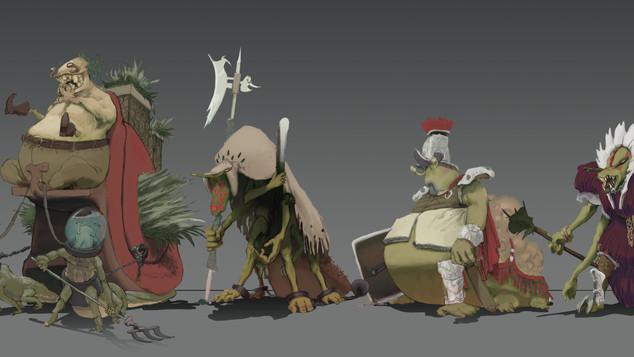 7 Deadly Slugmen