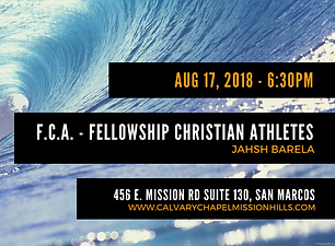 Back to School by the FCA