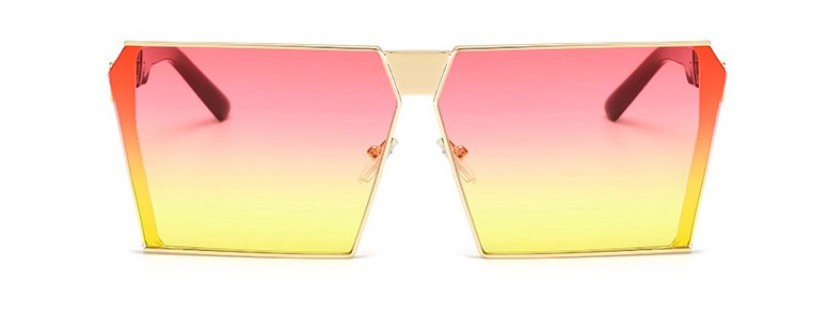 BC OMBRÉ PINK & YELLOW TINT SUNGLASSES