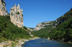 Gorges de l'Ardèche, la Cathédrale