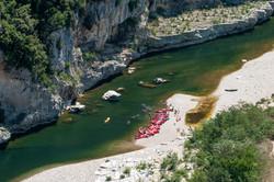 Gorges de l'Ardèche. La Bugadière, gîte authentique du Sud Ardèche
