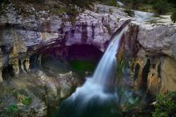 Cascade vers Lagorce, Ardèche