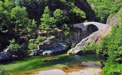 Pont du diable à Thyuets, Ardèche