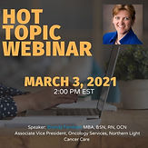 Hot Topic Webinar - Data-driven Process Improvements that Improve Workflow Efficiency in Cancer Care