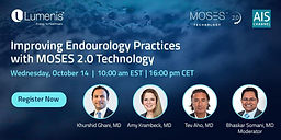 Improving Endourology Practices with MOSES 2.0 Technology