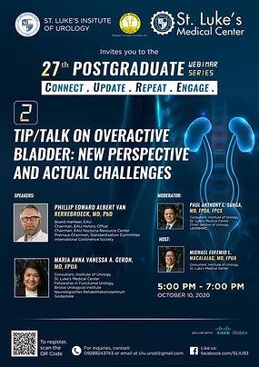 27th Post-graduate Webinar Series - Connect. Update. Repeat. Engage