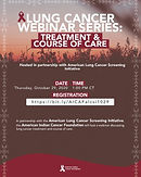Lung Cancer Webinar Series: Treatment & Course of Care