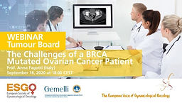 The Challenges of a BRCA Mutated Ovarian Cancer Patient
