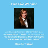 Cardiovascular Disease and T2D: Defining the link between T2D and Heart Failure