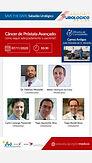 Sabadão Urológico: Câncer de Próstata Avançado: como seguir adequadamente o paciente?
