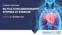 Bicycle echocardiography: dyspnea at exercise