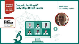 Genomic Profiling Of Early Stage Breast Cancer