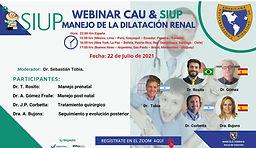 Webinar CAU & SIUP: Manejo de la Dilatación Renal