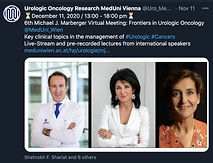 6th Michael J. Marberger Virtual Meeting: Frontiers in Urologic Oncology