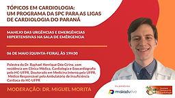 Manejo das Urgências e Emergências Hipertensivas na Sala de Emergência