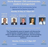 Stone disease: old controversies, modern management