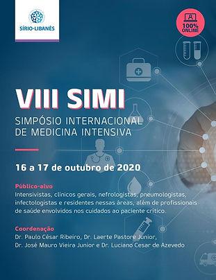 VIII SIMI Simpósio Internacional de Medicina Intensiva - Sala 1