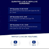 QUANTA's Live & Semi-Live Surgeries: UTUC treatment with RIRS and Cyber TM