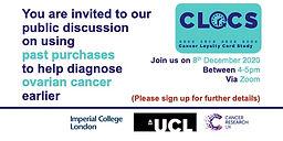 Cancer Loyalty Card Study: Public Event