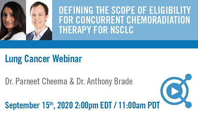 Defining the Scope of Eligibility for Concurrent Chemoradiation Therapy for NSCLC