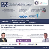 V2P2 in GU Webinar Series   Session 2: Can we expand the indications for radical prostatectomy for prostate cancer?