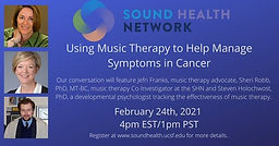 Using Music Therapy to Help Manage Symptoms in Cancer