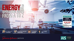 Energy in the operating room from A to Z