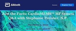 Just the Facts: CardioMEMS HF System Q&A with Stephanie Preister, N.P.