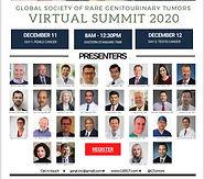 Global Society of Rare Geniturinary Tumors Virtual Summit 2020