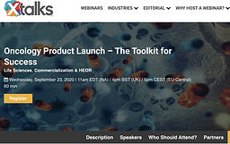 Oncology Product Launch – The Toolkit for Success