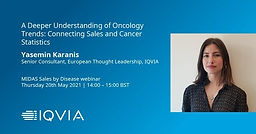 A Deeper Understanding of Oncology Trends: Connecting Sales and Cancer Statistics