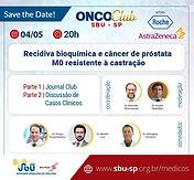 ONCO Club – Recidiva bioquímica e câncer de próstata M0 resistente à castração