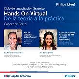 Ciclo de Capacitaciones De la teoría a la práctica - Hands On Virtual Cáncer de Recto