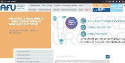 @AFUrologie #CFU2020 - Découvrez Le Programme du 114IEME Congrès Français D'Urologie 100% Virtuel