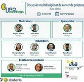 URO meetings: Discussão multidisciplinar de câncer de próstata (Caso clínico)