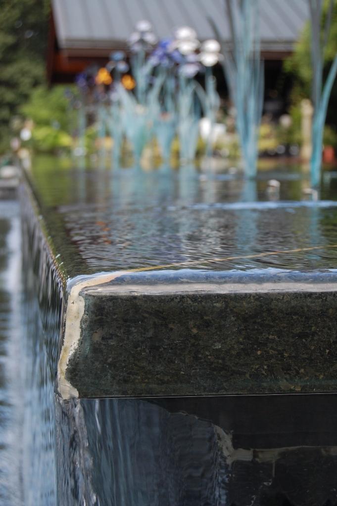 Duke Gardens Fountain