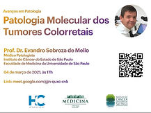 Avanços em Patologia - Patologia Molecular dos Tumores Colorretais