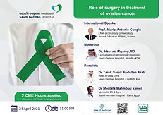 Role of surgery in treatment of ovarian cancer