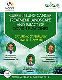 Current Lung cancer treatment landscape and impact of covid-19 vaccines