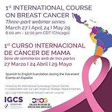 1st Curso Internacional de Cáncer de Mama