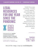 Cancer During COVID series: Legal Resources for One Year Since the Pandemic