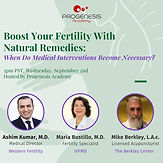 Boost Your Fertility With Natural Remedies: When Do Medical Interventions Become Necessary?