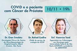 COVID e o paciente com Câncer de Próstata